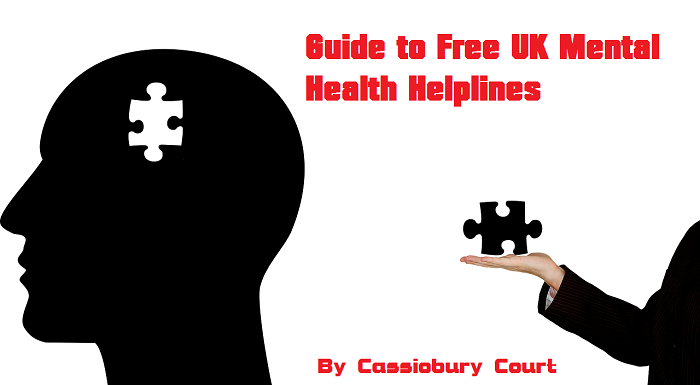 Guide to free mental health helplines UK