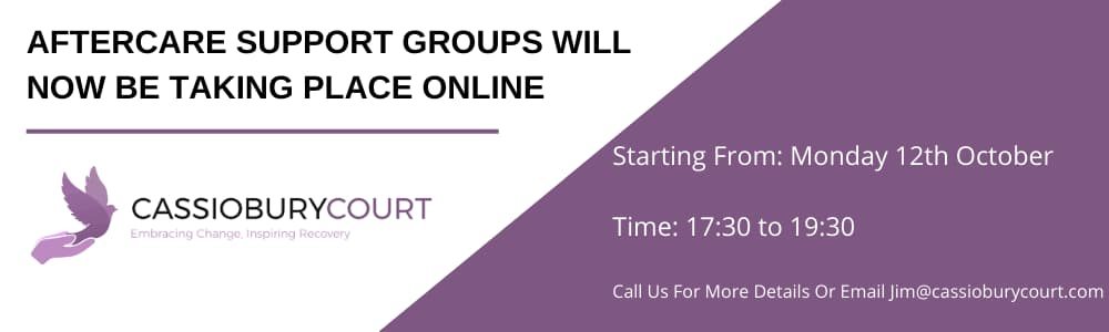 Aftercare Support Groups Will Now Be Taking Place Online
