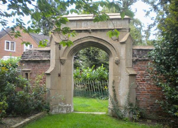 Cassiobury Park Garden Gateway